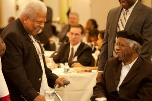 Chinua-Achebe-With Ali-Mazrui-at-Achebe-Colloquium-On-Africa
