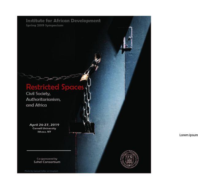 Cornell 2019 Poster