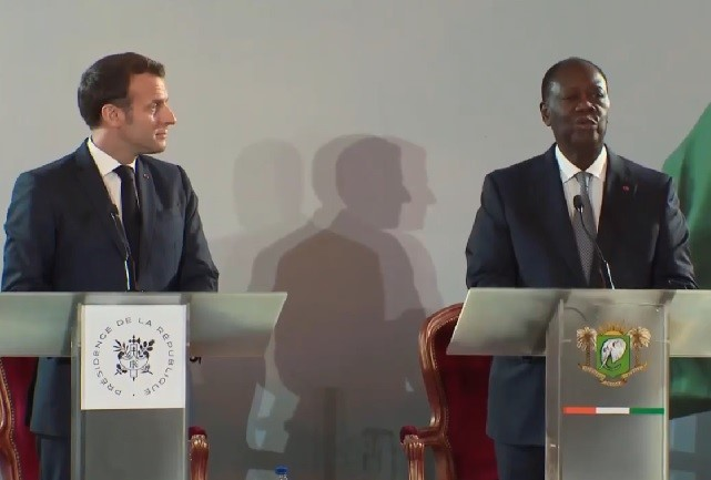 Ouattara and Macron